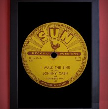 QUADRO SUN RECORDS - JOHNNY CASH LABEL