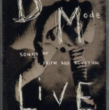 Fita Cassete Depeche Mode - Songs Of Faith And Devotion / Live