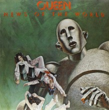 DISCO DE VINIL LP NOVO QUEEN NEWS OF THE WORLD