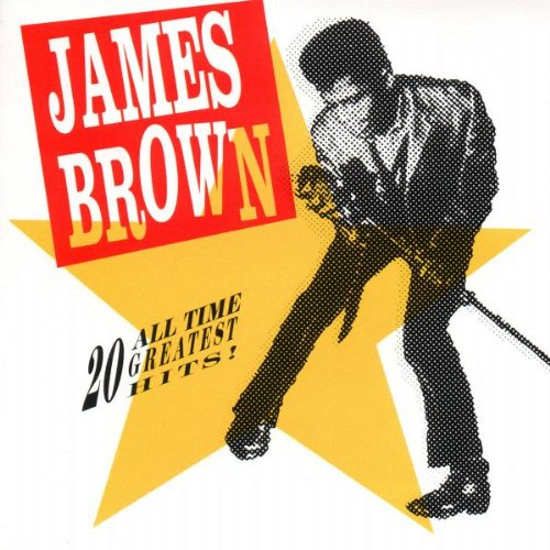 Disco de vinil James Brown 20 All Time Greatest Hits!