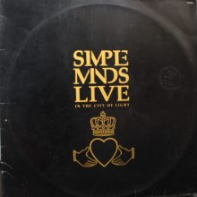 Disco de Vinil Simple Minds Live In The City Of Light