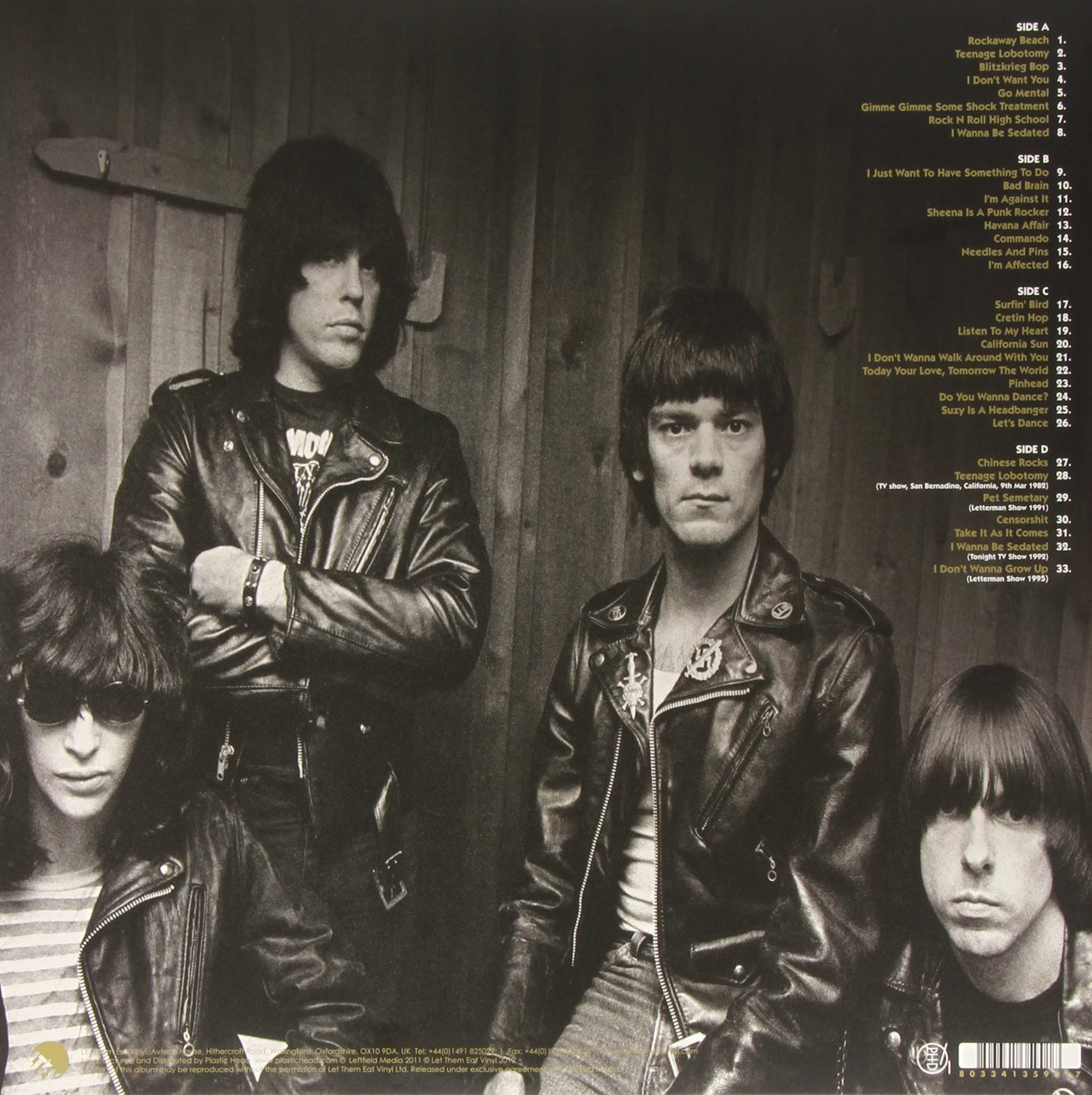 Disco de Vinil Ramones The Cretin Hop: Live Broadcast From The Second Chance Saloon February 1979