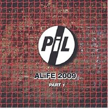 Disco de Vinil PUBLIC IMAGE LTD Alife 2009 Part 1