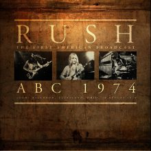 Disco de Vinil Rush ABC 1974