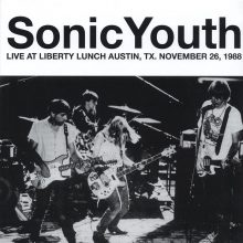 Disco de Vinil Sonic Youth Live At Liberty Lunch, Austin, Tx. November 26, 1988