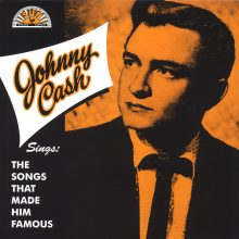 Disco de Vinil Johnny Cash Sings The Songs That Made Him Famous