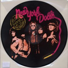 Disco de Vinil New York Dolls Live At Radio Luxembourg: Paris