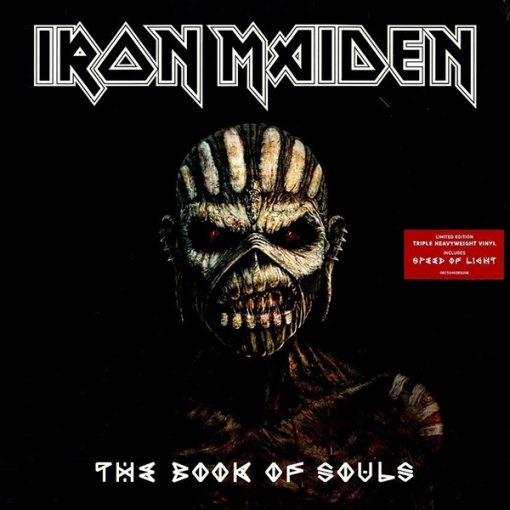 Disco de Vinil Iron Maiden The Book Of Souls