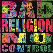 Disco de Vinil Bad Religion - No Control