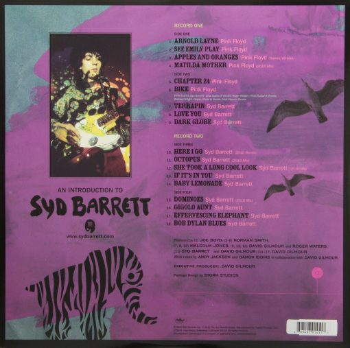 Disco de Vinil Syd Barrett & Pink Floyd - Introduction to Syd Barrett
