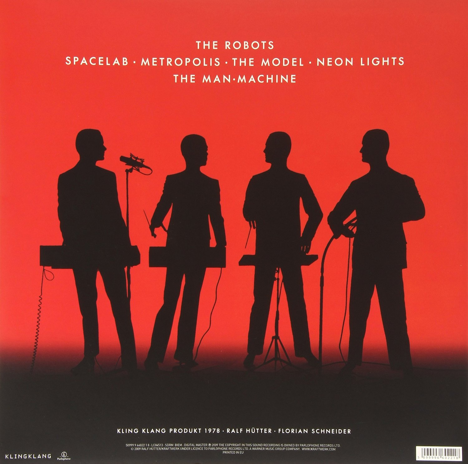 Disco de Vinil Kraftwerk ‎– The Man-Machine