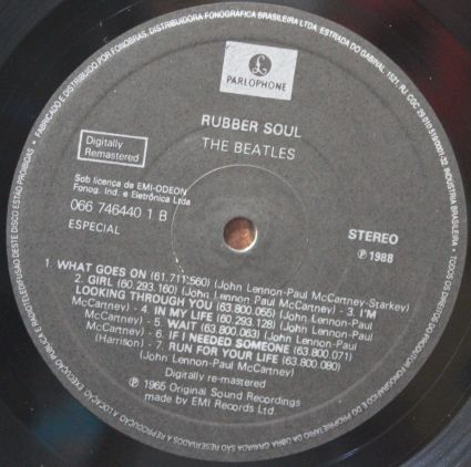 Disco de Vinil Usado The ‎Beatles Rubber Soul