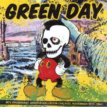 Disco de Vinil Green Day - MTV Broadcast, Aragon Ballroom Chicago, November 10th, 1994