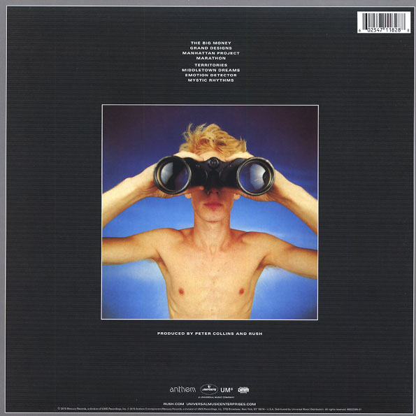 Disco de Vinil Rush - Power Window
