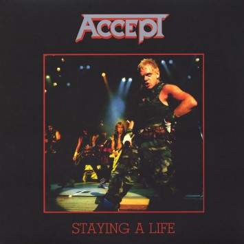 Disco de Vinil Accept – Staying A Life