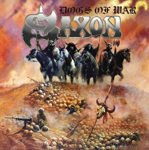 Disco de Vinil Saxon - Dogs of War
