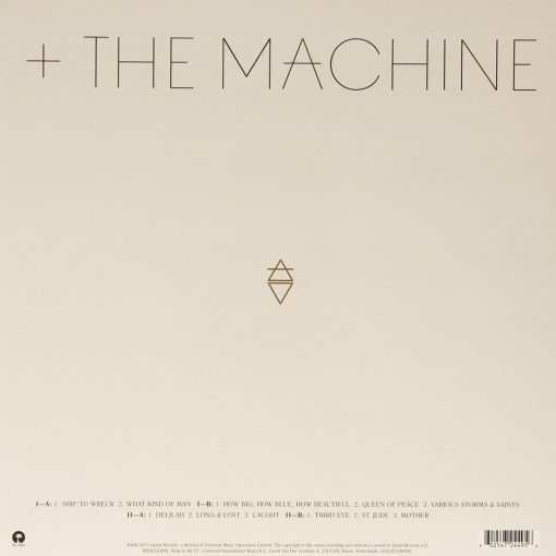 Disco de Vinil Florence And The Machine – How Big, How Blue, How Beautiful