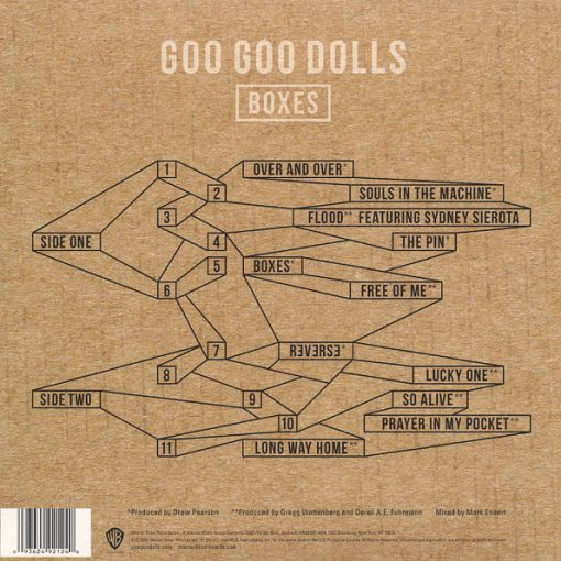 Disco de Vinil The Goo Goo Dolls - Boxes