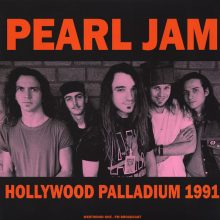 Disco de Vinil Pearl Jam - Hollywood Palladium 1991: Westwood One FM Broadcast