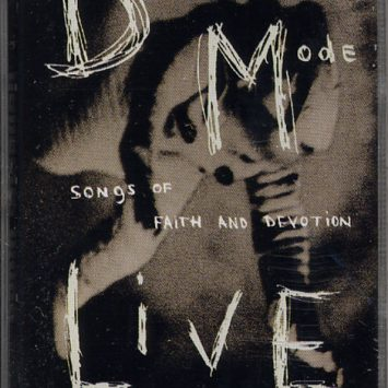Fita Cassete Depeche Mode – Songs Of Faith And Devotion / Live