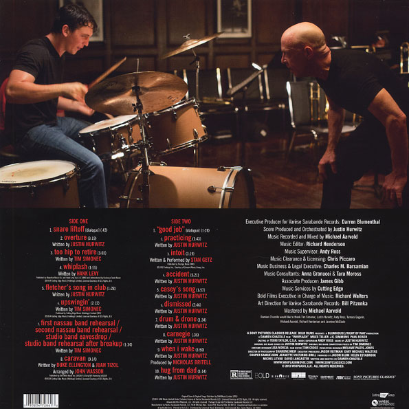 Disco de Vinil Various - Whiplash: Original Motion Picture Soundtrack