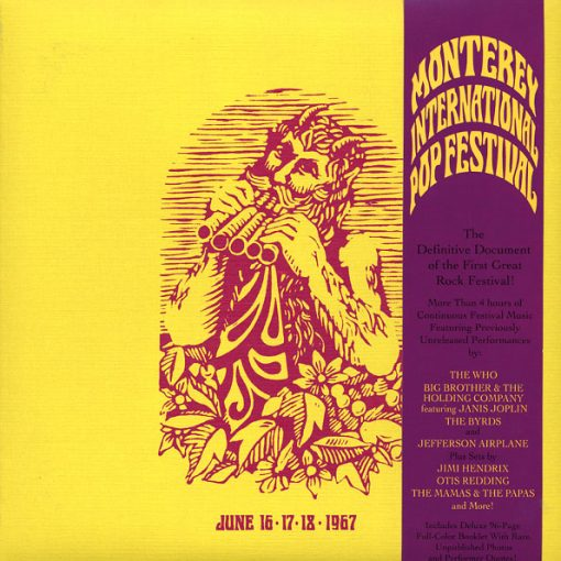 Fita Cassete - Monterey International Pop Festival! Jimi Hendrix, Jefferson Airplane, Country Joe & The Fish, Booker T & The MG's, The Mamas & The Papas,The Who, Etc. 16.17.18 de Junho de 1967