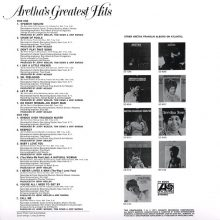 Disco de Vinil Aretha Franklin - Aretha's Greatest Hits