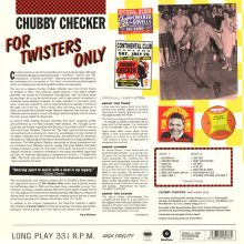 Disco de Vinil Chubby Checker - For Twisters Only