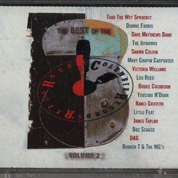 Fita Cassete Booker T & The MG's, Lou Reed, Dave Matthews Band, Etc. – Columbia Records Radio Hour Volume 2