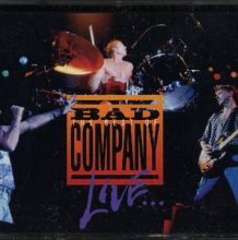 Fita Cassete K7 Bad Company - The Best Of Bad Company Live: What You Hear Is What You Get