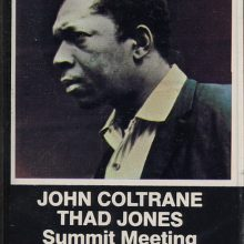 Fita Cassete K7 John Coltrane, Thad Jones - Summit Meeting