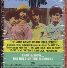Fita Cassete K7 The Monkees - Then & Now: The Best Of The Monkees