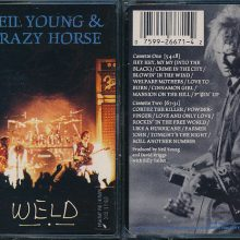 Fita Cassete K7 Neil Young & Crazy Horse - Weld