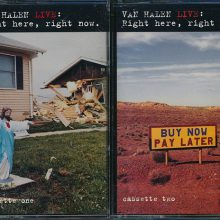 Fita Cassete K7 Van Halen - Live: Right Here, Right Now