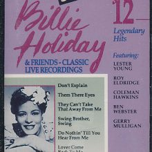 Fita Cassete K7 Billie Holiday & Friends - Classic Live Recordings