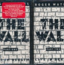 Fita Cassete K7 Roger Waters - The Wall: Live In Berlin 1990