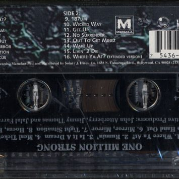 Fita Cassete Dr. Dre, Snoop Dog, 2Pac, Notorious BIG, Etc. - One Million Strong: The Album