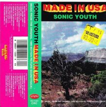 Fita Cassete K7 Sonic Youth – Made In USA