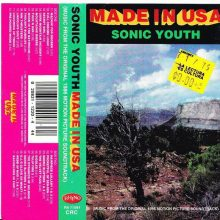 Fita Cassete K7 Sonic Youth ‎– Made In USA