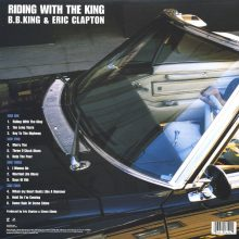 Disco de Vinil BB King, Eric Clapton - Riding With The King