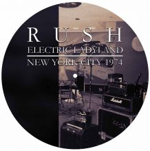 Disco de Vinil Rush - Electric Ladyland - New York City 1974 (Picture Disc)