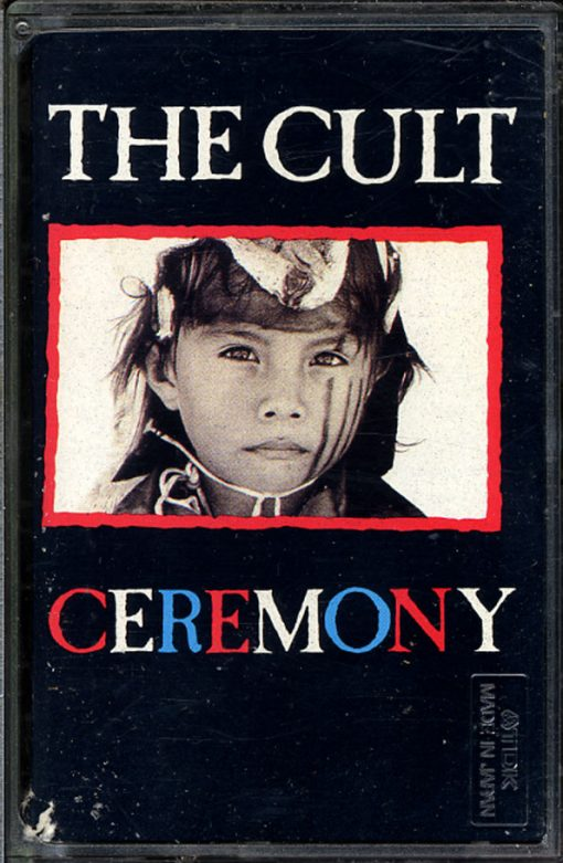 Fita Cassete K7 The Cult - Ceremony