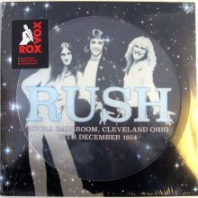 Disco de Vinil Rush - Agora Ballroom, Cleveland Ohio 16th December 1974