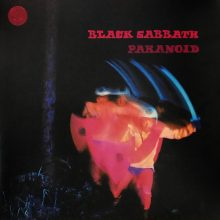 DISCO DE VINIL BLACK SABBATH PARANOID