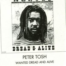 Fita Cassete K7 Peter Tosh - Wanted Dread & Alive