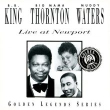 Fita Cassete K7 B.B. King & Big Mama Thornton & Muddy Waters - Live At Newport