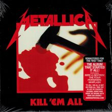 CD Metallica - Kill 'Em All