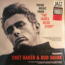 "Disco de Vinil Chet Baker, Bud Shank - Theme music form ""The James Dean Story"""