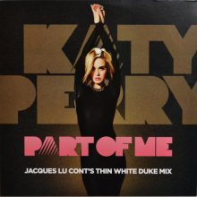Disco de Vinil Katy Perry ‎– Part Of Me (Jacques Lu Cont's Thin White Duke Mix)