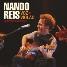 CD Nando Reis Voz e Violão - No Recreio - Vol. 1